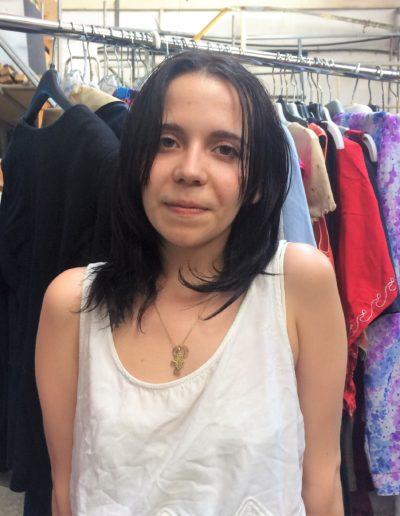 Assia Guzzi Volontaire SC en appui à l'animation de la Ressourcerie