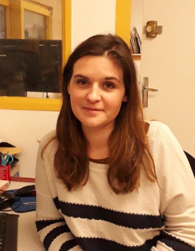 Justine URIOT, Assistante administrative