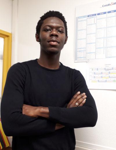 Alex TOUGOUMA Volontaire SC de réciprocité appui à la Ressourcerie